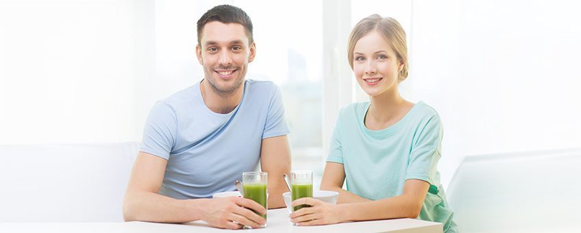 Couple With Juice 848x340