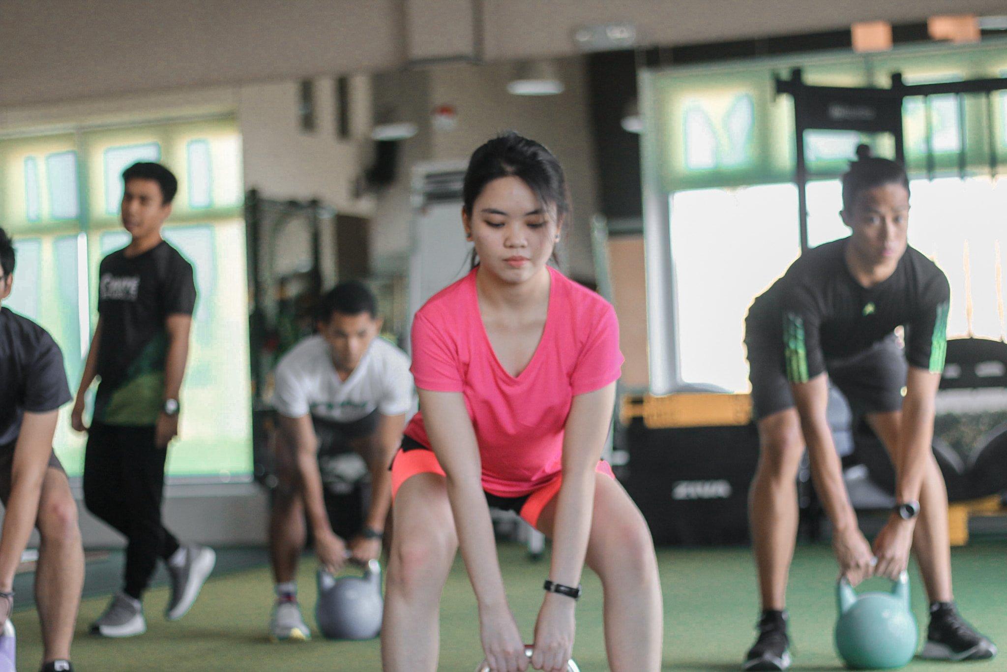 Sante Fitnesslab Actual Workout